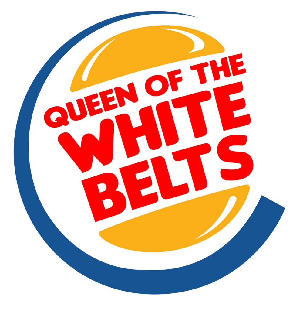 queen of the white belts logo